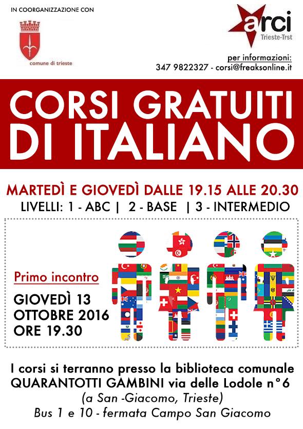 locandina 2016_CORSI DI ITALIANO