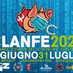 13ª Olimpiade dele Clanfe Locandina Orizzontale Covid